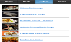 Burritos Recipes screenshot 3/3