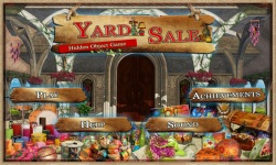 Free Hidden Object Game - Yard Sale screenshot 1/4