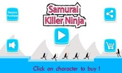 Ninja Samurai Killer screenshot 1/5