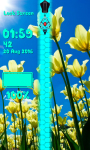 Tulips Zipper Lock Screen Best screenshot 6/6