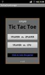 Simple TicTacToe ORANGE screenshot 1/3