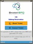 IRCTC SMS Ticket Booking screenshot 1/3