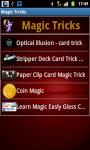 Magic Tricks Application screenshot 4/4
