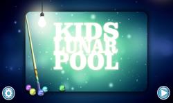 Kids Lunar Pool screenshot 1/3