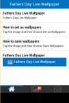 Fathers Day Live Wallpaper Free screenshot 2/5