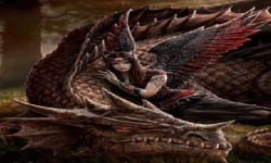 Dragon Fairy Live Wallpaper screenshot 2/3