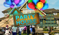 Free Hidden Object Game - Party House screenshot 1/4