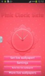 Pink Clock Skin screenshot 2/6