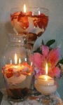 Flowers Candles Live Wallpaper screenshot 1/3