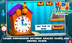 Kids Time Learning Education screenshot 1/6