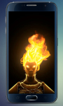 Fire Head Live Wallpaper screenshot 1/3