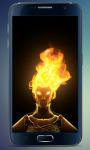 Fire Head Live Wallpaper screenshot 3/3