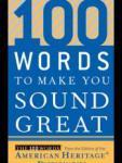 100 Words to Make You Sound Great screenshot 1/1