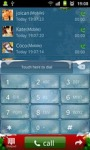GO Contacts Christmas theme screenshot 1/4