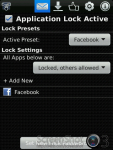 Lock for Facebook screenshot 2/3