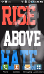 John Cena Rise Above Hate Live Wallpaper screenshot 1/3