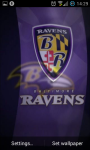 Baltimore Ravens NFL Live Wallpaper screenshot 1/3