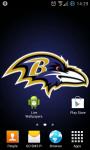 Baltimore Ravens NFL Live Wallpaper screenshot 2/3