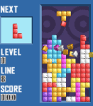 YG Blocker (Tetris game) screenshot 1/1