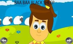 Kids Rhymes Baa Baa Black Sheep screenshot 2/4