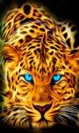 Blue Eyes Tiger Live wallpaper screenshot 1/3