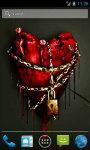 Heart in chains Live Wallpaper screenshot 1/4