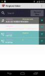 MP3 cutter and ringtones maker screenshot 1/2