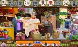 Free Hidden Object Games - City Cafe screenshot 3/4
