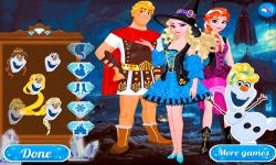 Frozen Team Halloween screenshot 2/3