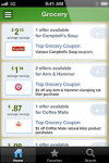Mobile Coupons by CouponCabin for iOS screenshot 2/6