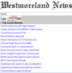 Westmoreland News for Android screenshot 1/1