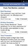 Social Advanced Lite for Facebook screenshot 2/5