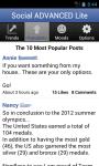 Social Advanced Lite for Facebook screenshot 3/5