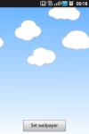 Cute Clouds Live Wallpaper screenshot 2/2