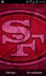 San Francisco 49ers NFL Live Wallpaper screenshot 1/3
