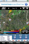 KYTX Radar screenshot 1/1