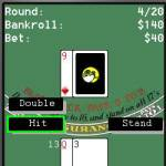 Wapfrog Blackjack screenshot 1/2