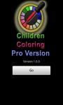 Children Coloring Pro Version screenshot 1/3