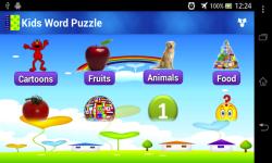 Kids Word Puzzle screenshot 1/4