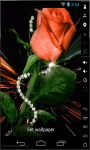 Rose Diamond Live Wallpaper screenshot 1/2