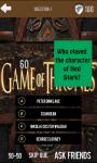 Quiz Game Of Thrones screenshot 6/6