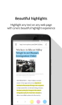 Liner - Mobile Web Highlighter screenshot 1/4