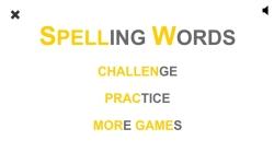 Spelling Words screenshot 1/4