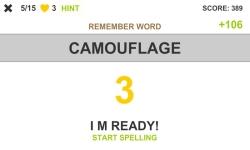Spelling Words screenshot 2/4