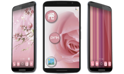 Pink icon pack screenshot 1/4
