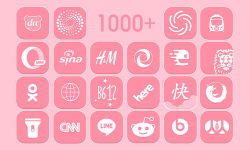 Pink icon pack screenshot 3/4