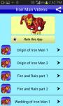 Iron Man Cartoon Video Collection for Kids screenshot 1/3
