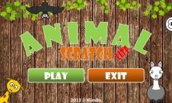 Kids Animal Scratch Lite screenshot 1/6
