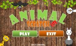 Kids Animal Scratch Lite screenshot 2/6