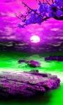 Purple Nature Live Wallpaper screenshot 1/3